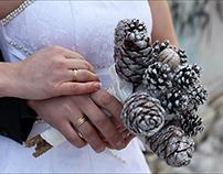 Wedding, Winter Fairy tale/ Свадебная фотосъемка