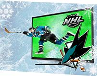 3D Hockey Scene