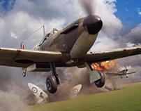 Battle of Britain Combat Archives Vol. 8 - Cover Image