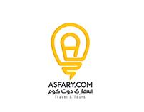 ASFARY.COM Logo Design/2
