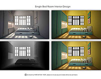 Room Interior - Simple Yellow