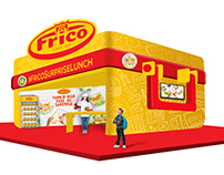 Frico Cheese- 3D booth