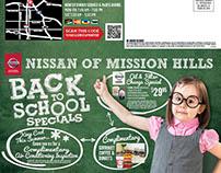 Back To School Nissan