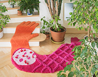 Handtufted woolen rugs, Chopit collection (KOPIE)