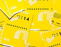 Sommerszene Festival Designs 2016-2013