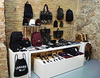 Visual Merchandising en Carhartt Showroom FW2016
