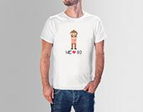 camiseta quintos 83