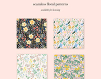 Seamless Patterns - Available for Licensing