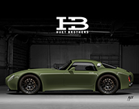 Exterior design - Huet Brothers HB Coupe
