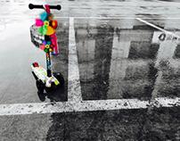 Discarded Toy Bike