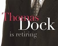 Dean V. Thomas Dock Retirement Reception