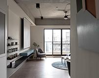 Industrial Interior Design | Dr. Wang案 粗獷的溫柔 美式輕工業風