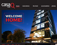 Casa Q (Quito Hotel) Website Design and Development