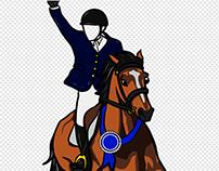 SNL Winning Horse Cutout