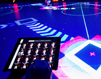 LED court / Training App
