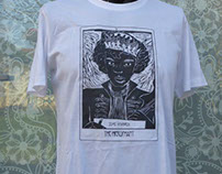 "ARTPOLLINE | The Heromant, T-Shirt ""Rock Tarot"""
