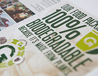 Identity for Biodegradable Food Packaging