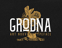Grodna Typeface | Free Download