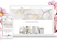 Luxe Floristry Print and Website Designs