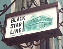 Black Star Line - Liberty Hall Branding y Campaña