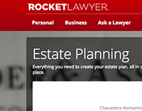 Website Content - Rocket Lawyer