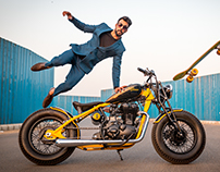 Custom Bike_The Wasp_Sahil Kumar