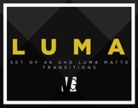 LUMA - 4K UHD Luma Matte Transitions