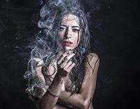 STEFANIA( and some smoke)