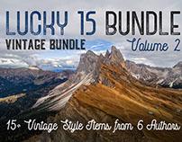 Lucky 15 Bundle vol.2 – 15+ Vintage Bundle