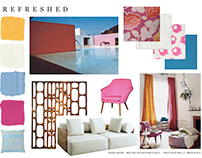 "Interior Materials: ""Refreshed"" Mood Board"