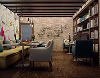 Caffee & Play Station Room