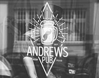 Andrews' Pub - Branding