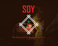 SOY | Restaurant trial menu