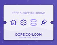Dopeicon - Icon Challenge Day 001