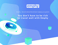 Emphy.io | UI/UX Design + illustration | ICO traveling