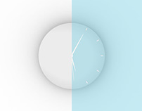 H.U.U LED Light Clock