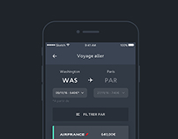 Airfrance - app redesign