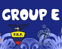 Brazil 2014 fantasy kits Group E