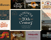 Typefaces of The 20th Century Bundle - Save Over $450!