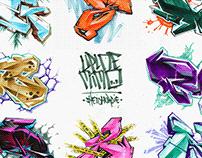 ALPHABET graffitisketches vol.II