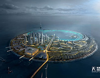 South East Asia Pearl Eco Island Project