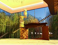 Cenário Para jogos ou Animação 3Ds Max e V-Ray