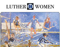 Luther Women's 50th Anniversary Poster