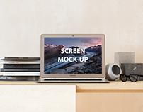 16x10 Screen Mock-Up