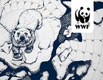 WWF Polar Calendar. Time is ice...