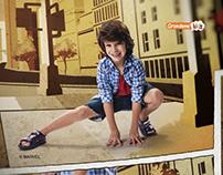 Sandália Homem-Aranha - Grendene Kids