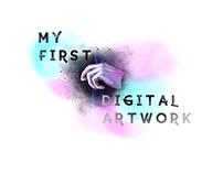 My first digital art poster