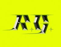 r. g. // personal logo