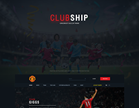 ClubShip Grassroot Soccer Theme