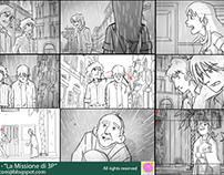 La Missione di 3P - Storyboards